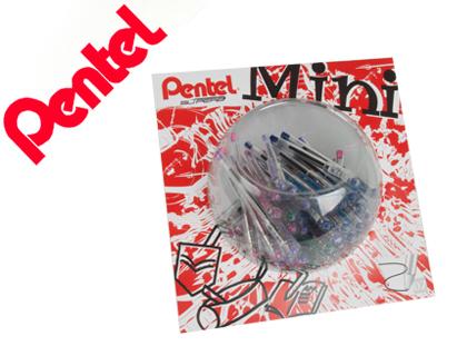 Bolígrafo Pentel bk77 mini colores surtidos
