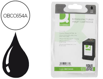 Cartucho de tinta Q-Connect compatible Hp