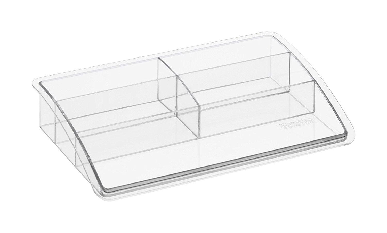 Organizador sobremesa plástico Offisys timeless transparente