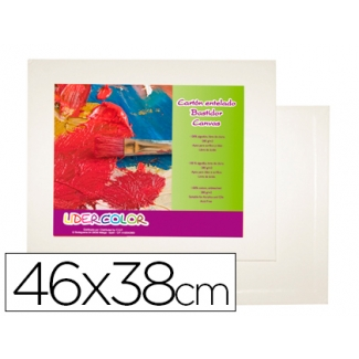 Carton entelado lidercolor 8f 100% fabricado en algodon grosor 0,3 cm 46x38 cm