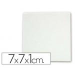 Mini bastidor Artist lienzo grapado trasero algodon 100% 7x7x1 cm