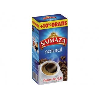 Cafe molido natural superior Saimaza paquete de 250 gr +10% gratis