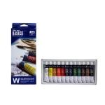 Acuarela Artist caja cartón de 12 colores surtidos de 12 ml