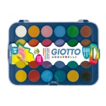 Acuarela Giotto 24 colores estuche de plástico