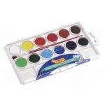 Jovi 001 - Acuarela, estuche de plástico, 12 colores