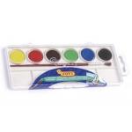 Jovi 800/6- Acuarela, estuche de plástico, 6 colores