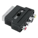 Adaptador video euroconector svhs+3rca H (in-out)