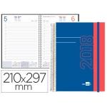 Agenda tamaño A4 día página con portada personalizable