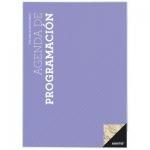 Agenda de programación Additio tamaño A4 plan mensual y programación semanal del curso