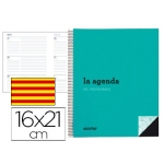 Agenda del profesor Additio planificación trimestral semana vista 16,5 x 21,5 cm catalan