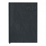 Agenda encuadernada Liderpapel corfu 15x21 cm semana vista color negro papel 60 gr