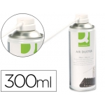 Aire a presion Q-connect para limpieza general 300ml no inflamable
