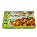 Albóndigas con verduras abrico me racion individual calentar en microondas y listo 320g