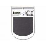 Alfrombrilla para raton con calculadora y portatarjetas