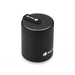 Altavoz Ngs inalámbrico 3.0 black roller mini bluetooth con micrófono incorporado 10 m de alcance potencia 2 w