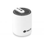 Altavoz Ngs inalámbrico 3.0 white roller mini bluetooth con micrófono incorporado 10 m de alcance potencia 2 w