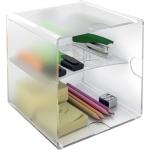 Archicubo archivo 2000 con 2 separadores organizador modular plástico 155x155x155 mm