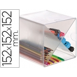 Archicubo archivo aspa organizador modular plástico incluye 2 clips de sujeción