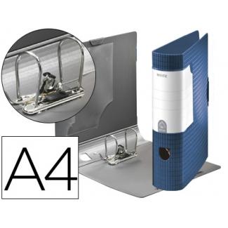 Archivador Leitz active pro esselte plástico tamaño A4 color azul 75 mm