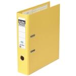 Archivador de palanca Elba cartón forrado tamaño A4 color amarillo lomo de 80 mm rado