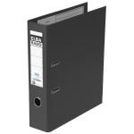 Archivador de palanca Elba cartón forrado tamaño A4 color negro lomo de 80 mm rado