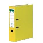 Archivador de palanca Elba cartón forrado tamaño folio color amarillo lomo de 80 mm rado chic