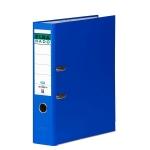 Archivador de palanca Elba cartón forrado tamaño folio color azul lomo de 80 mm rado chic