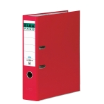 Archivador de palanca Elba cartón forrado tamaño folio color rojo lomo de 80 mm rado chic