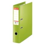 Esselte Nº 1 48086 - Archivador de palanca, tamaño folio, lomo ancho, con rado, color verde