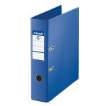 Archivador de palanca Esselte plástico tamaño folio color azul