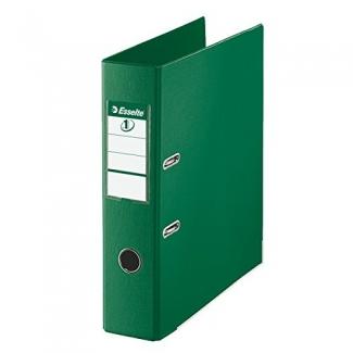 Archivador de palanca Esselte plástico tamaño folio color verde