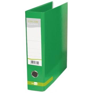 Archivador de palanca Liderpapel tamaño A4 color system forrado sin rado lomo 80 mm verde con compresor metálico