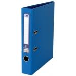 Archivador de palanca Liderpapel tamaño A4 documenta forrado pvc con rado lomo 52 mm color azul con compresor metálico