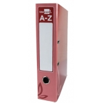 Liderpapel AZ56 - Archivador de palanca, tamaño folio, lomo ancho, con rado, color rojo