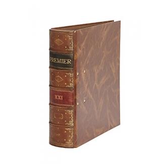 Archivador de palanca Pardo cartón forrado serie premier color marrón anilla 70 mm