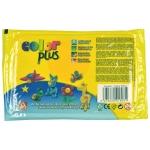 Arcilla colorplus que endurece al aire color amarillo paquete de 500 gr