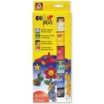 Arcilla colorplus que endurece al aire paquete de 6 colores surtidos 75 gr