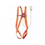 Arnes Faru protección anticaidas basico con cuerda incorporada de 1 m de largo