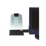 Atril para monitores lcd y ctr 3m para documentos standard tamaño 22,8x25,4x7 cm dh445