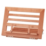 Atril sujetalibros color madera 340x237x20 mm