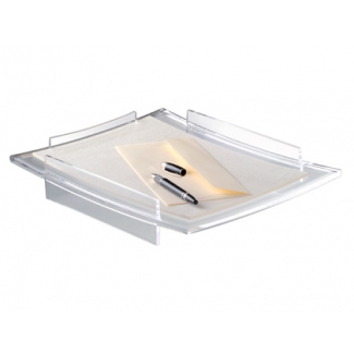 Bandeja sobremesa Cep acrylight plástico transparente