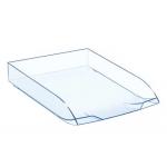 Bandeja sobremesa Cep confort plástico transparente celeste