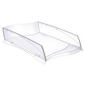 Cep Ellypse - Bandeja de sobremesa de plástico, color transparente