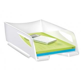 Bandeja sobremesa Cep maxi de gran capacidad plástico color blanco