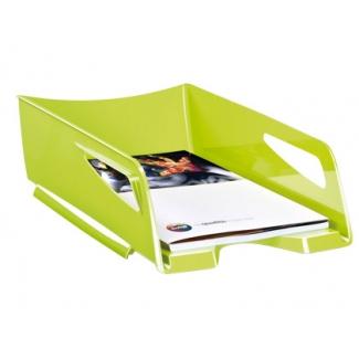 Bandeja sobremesa Cep maxi de gran capacidad plástico color verde