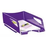Bandeja sobremesa Cep maxi de gran capacidad plástico color violeta