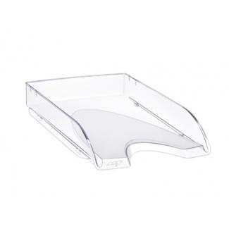 Bandeja sobremesa Cep plástico transparente