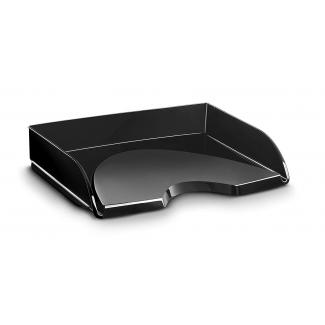 Bandeja sobremesa apaisado Cep plástico color negro