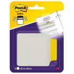 Banderitas separadoras 3m rigidas con pestaña 85,7x69,8 mm blister con 10 unidades color amarillo