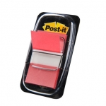 Banderitas separadoras 680-1 rojas dispensador de 50